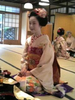 名古屋のくろたん日記_舞妓さんです!